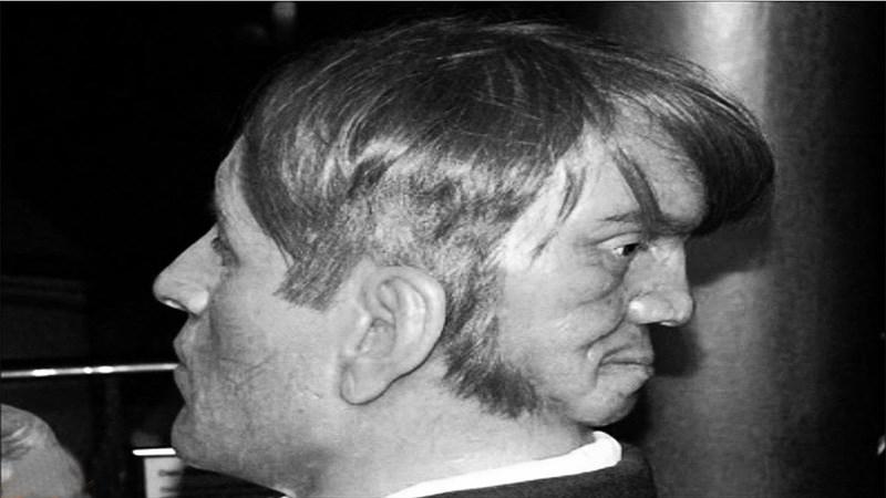 مردی با دو صورت +عکس